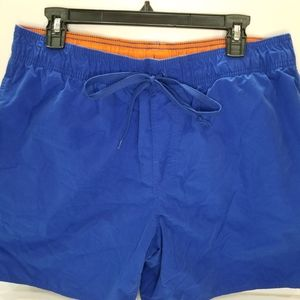 St. John's Bay Blue Swimsuit Trunks Large
